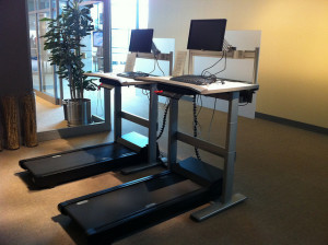 treadmill desk
