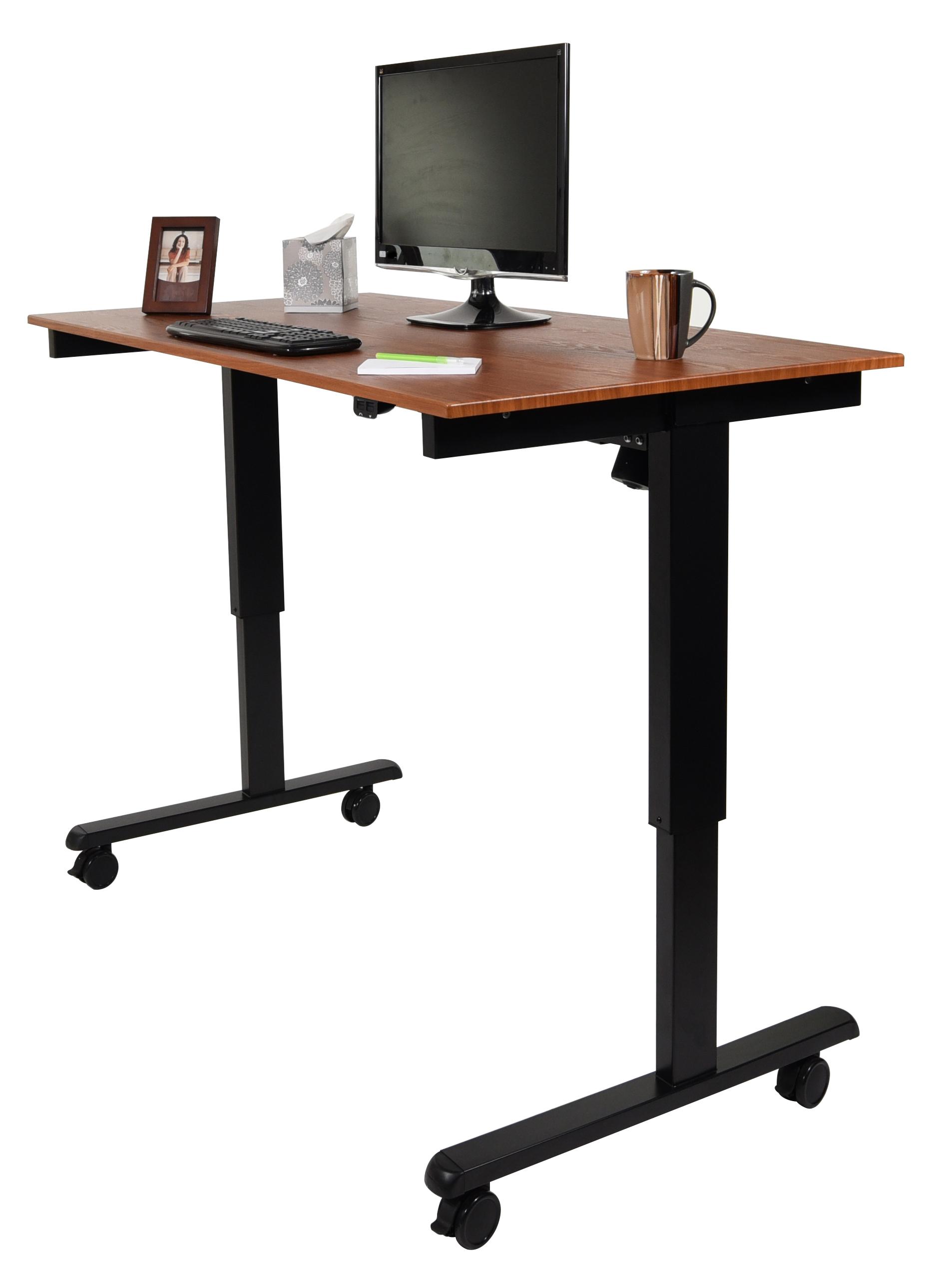 luxor 60 electric standing desk. Black Bedroom Furniture Sets. Home Design Ideas