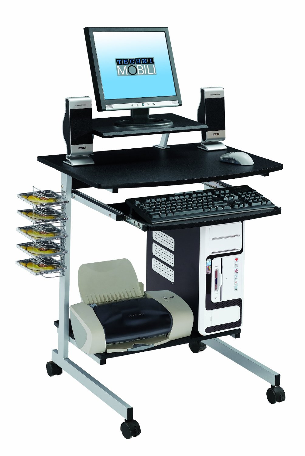 Techni Mobili Multifunction Computer Cart