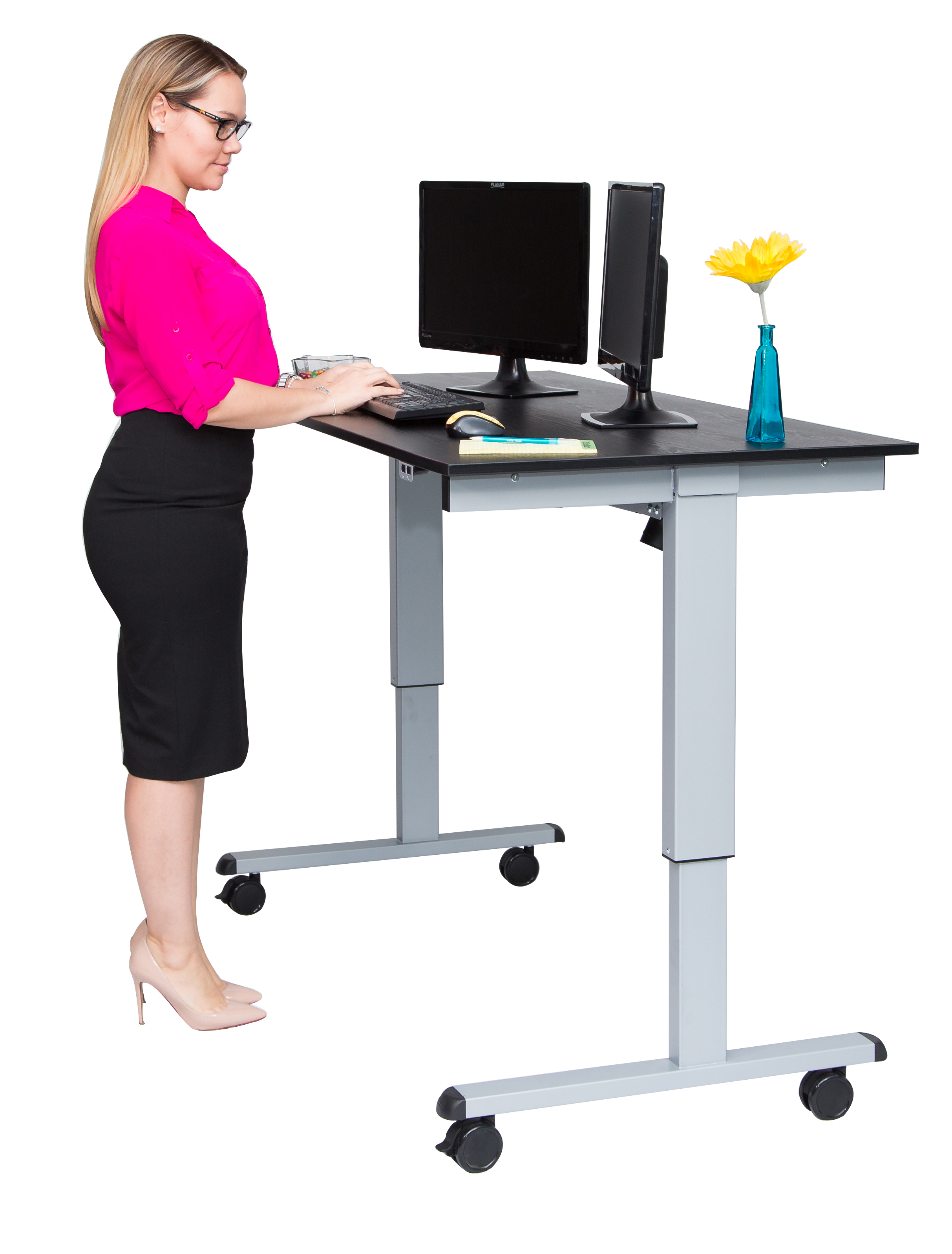 Luxor 60 Electric Standing Desk NotSittingcom : STANDE 60 AG BO9819 Height Adjustable <strong>Back Chair</strong> from notsitting.com size 2425 x 3194 jpeg 1139kB