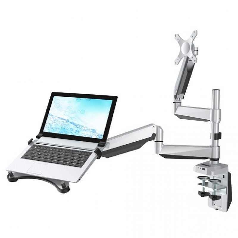 Loctek D7dp Dual Monitor Arm For Laptop Amp Monitor