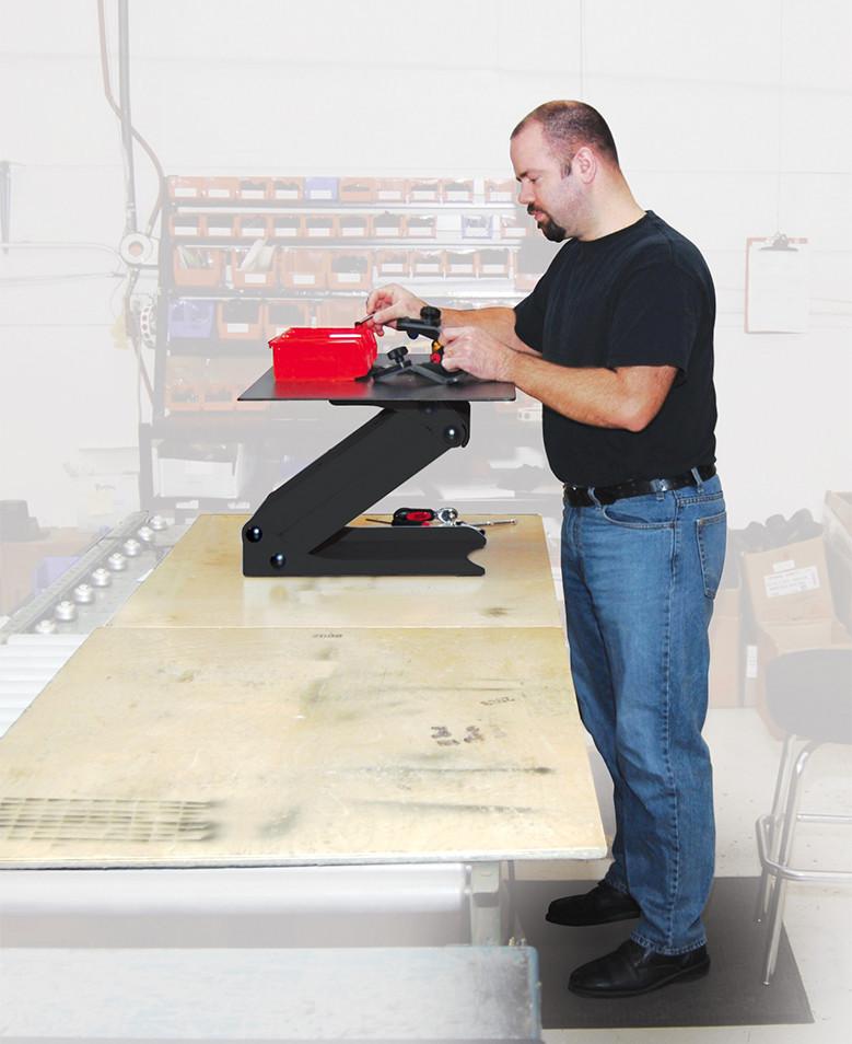 Surface Taskmate Standing Workstation With Platform 2