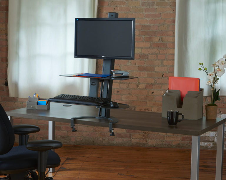 Taskmate Go Single Monitor With Large Work Surface