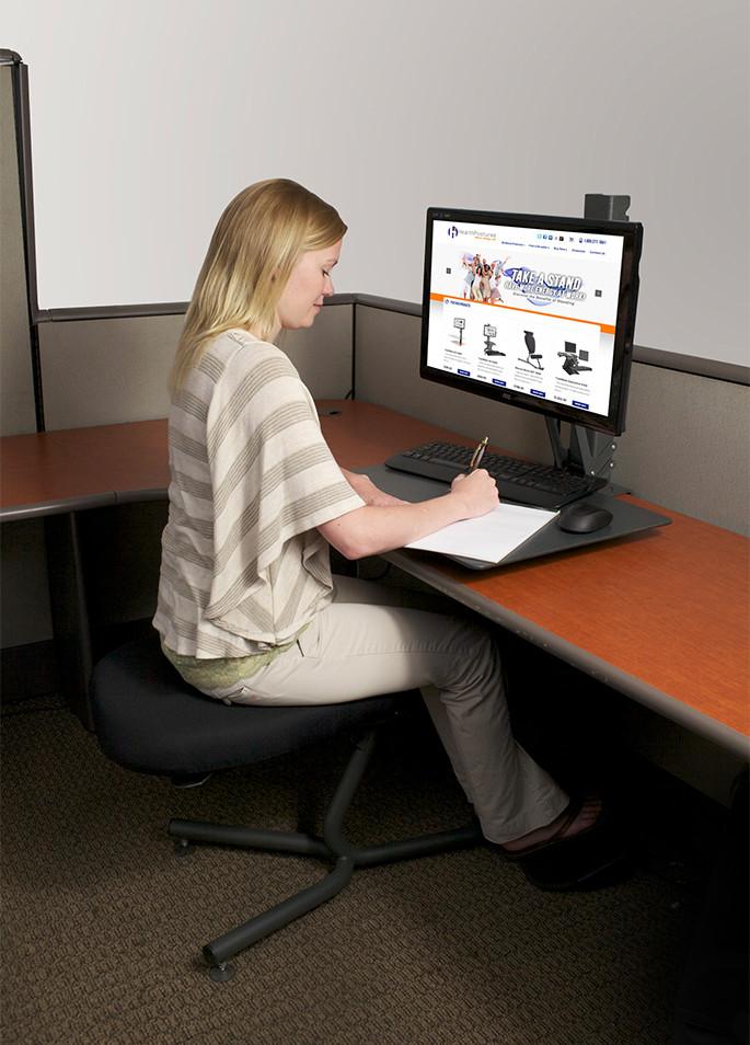 Standing Desk Pros And ConsLuxor 32 Desktop NotSitting Com 6400 TaskMate EZ