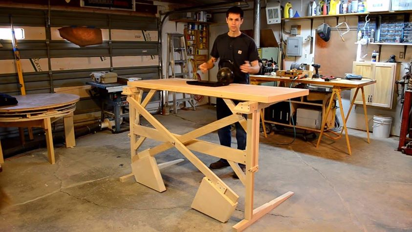 6 diy standing desks you can build too notsitting you can see some other related projects in the background that are really versatile as well i already own the plans for this one solutioingenieria