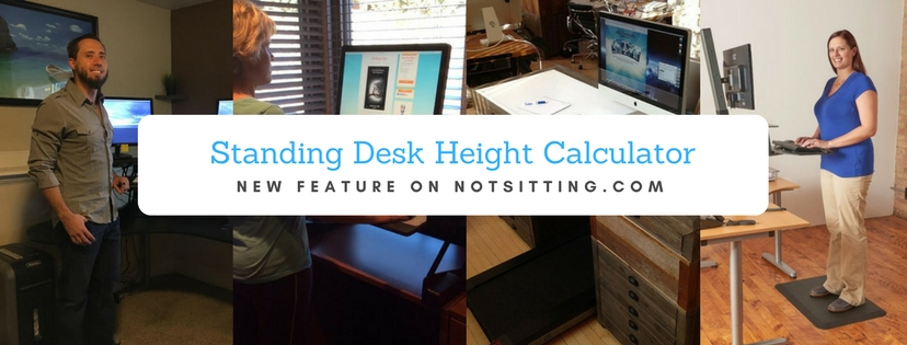 Terrific Standing Desk Height Calculator Notsitting Com Evergreenethics Interior Chair Design Evergreenethicsorg